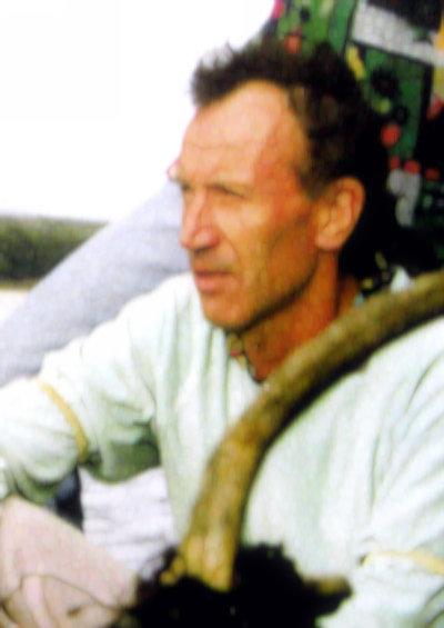 Gerd Kraus im Halbprofil